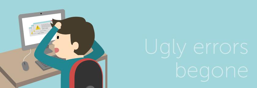 ClusterCS 1.0.27 – ugly errors begone