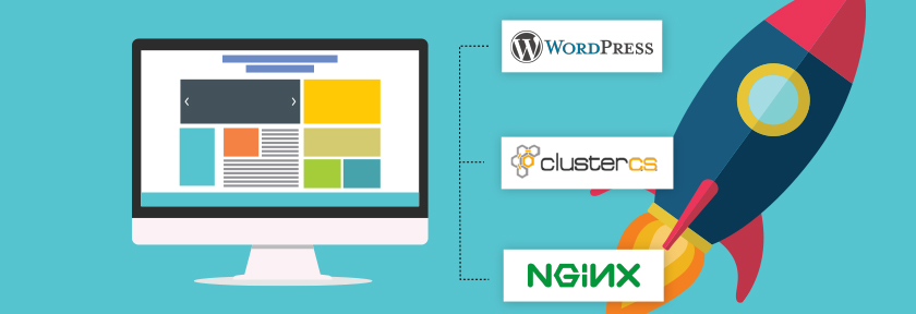 How to run a fast WordPress Blog with Nginx and Caching on ClusterCS