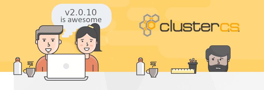 ClusterCS v2.0.10 Update