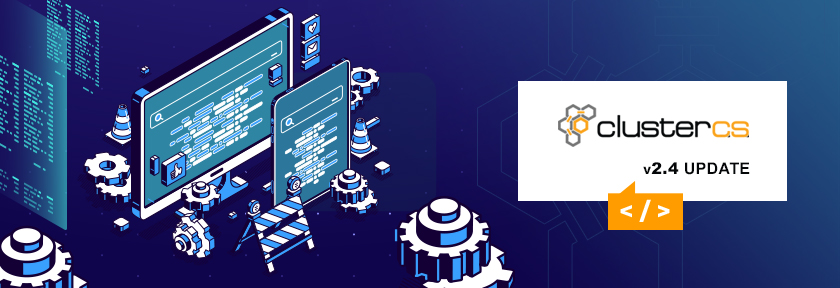 ClusterCS 2.4 Update